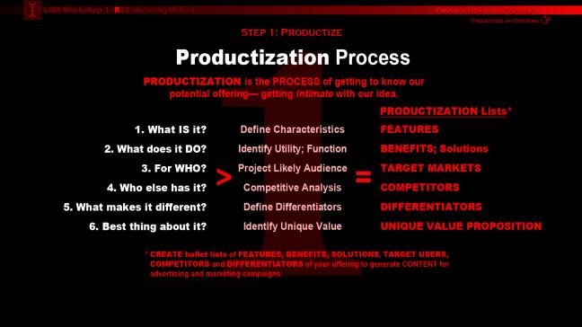 PRODUCTIZATION2